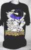 "Minnesota ""F*CK YOU"" Skull Urban Wear Hip hop T Shirt Blk/Purp (Wholesale 6 Pack)"
