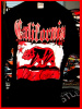 California Bear West Coast Hip Hop T shirt Blk /Shadow Wholesale (6 Pack)