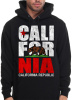 California Republic Hoodies Cali For Nia Design Black 6 pack